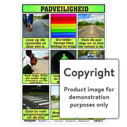 Padveiligheid Wall Charts And Posters