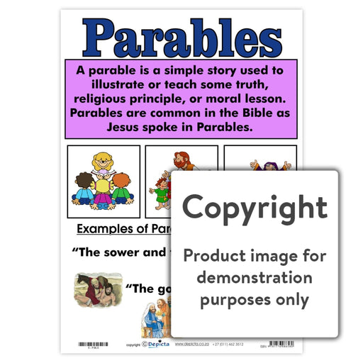 Parables Wall Charts And Posters