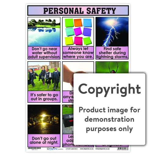 Personal Safety Wall Charts And Posters