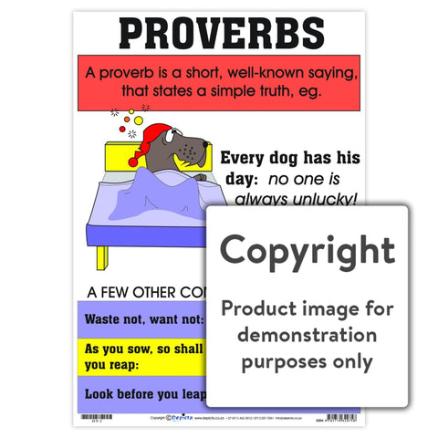 Proverbs Wall Charts And Posters