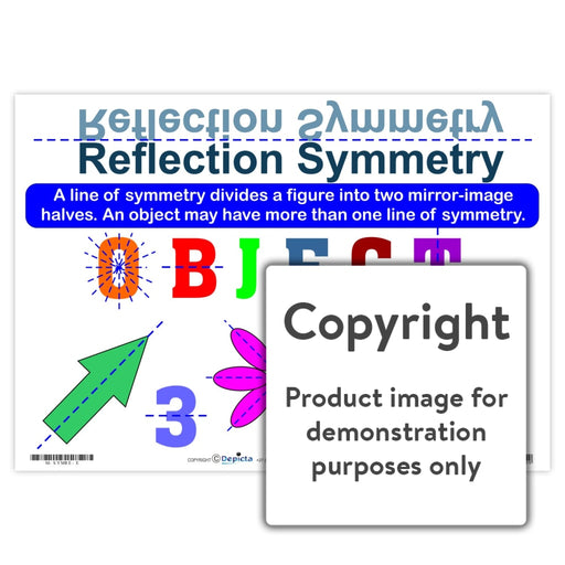 Reflection Symmetry Wall Charts And Posters