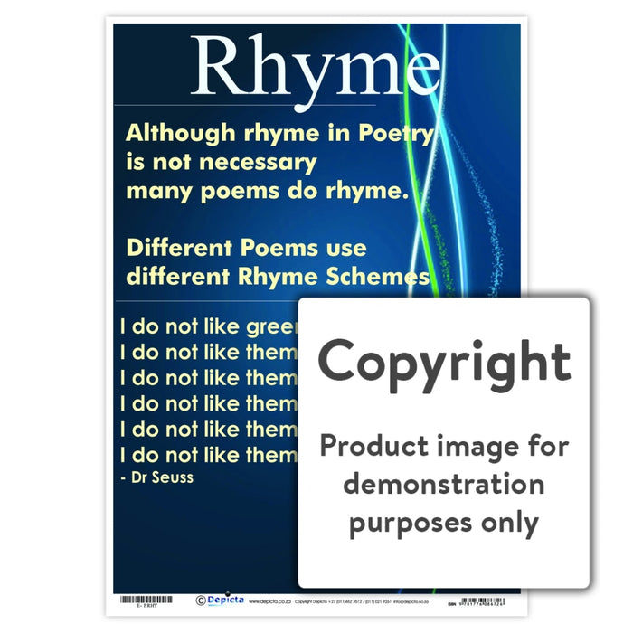 Rhyme Wall Charts And Posters