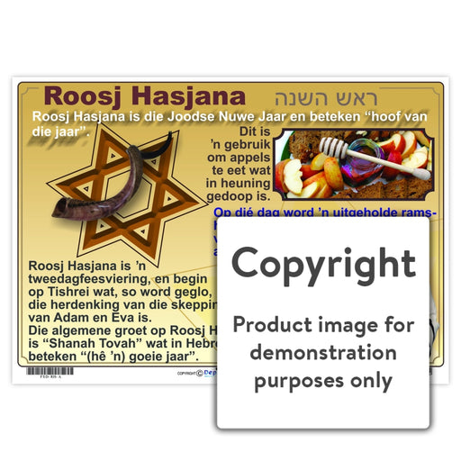 Roosj Hasjana Wall Charts And Posters