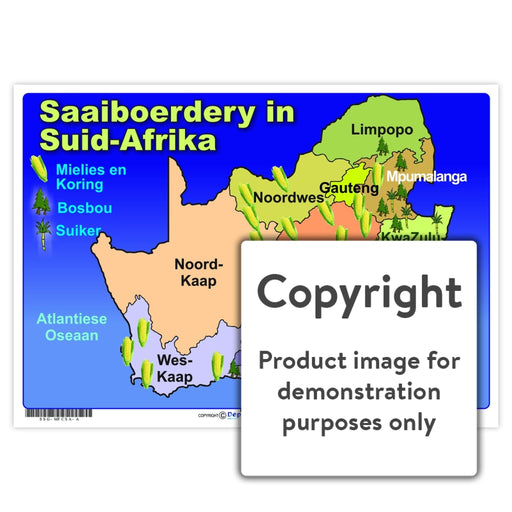 Saaiboerdery In Suid-Afrika Wall Charts And Posters
