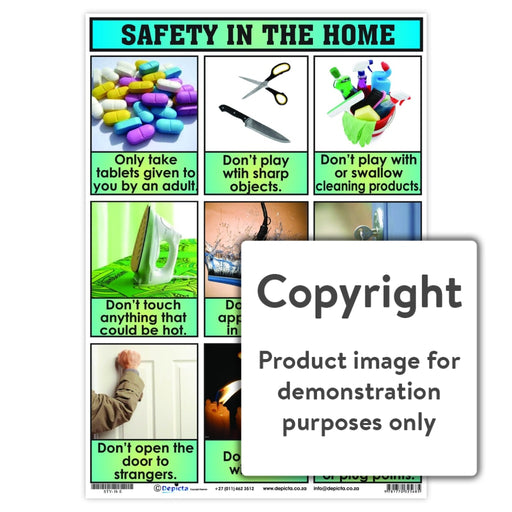 Safety In The Home Wall Charts And Posters