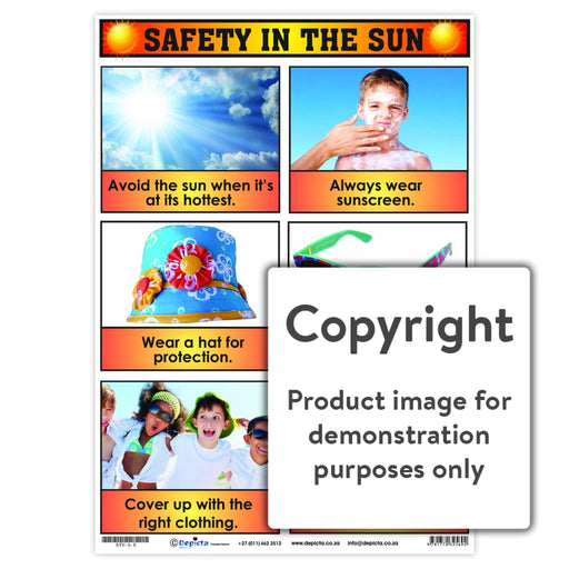 Safety In The Sun Wall Charts And Posters