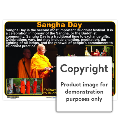 Sangha Day Wall Charts And Posters