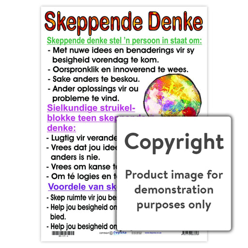 Skeppende Denke Wall Charts And Posters