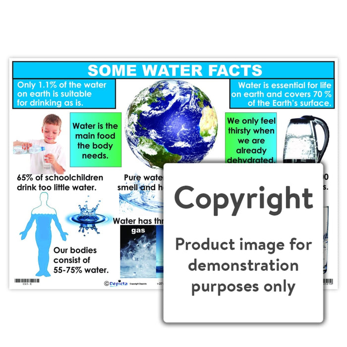 Some Water Facts Wall Charts And Posters