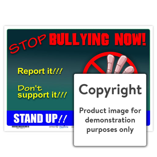 Stop Bullying Now! Wall Charts And Posters