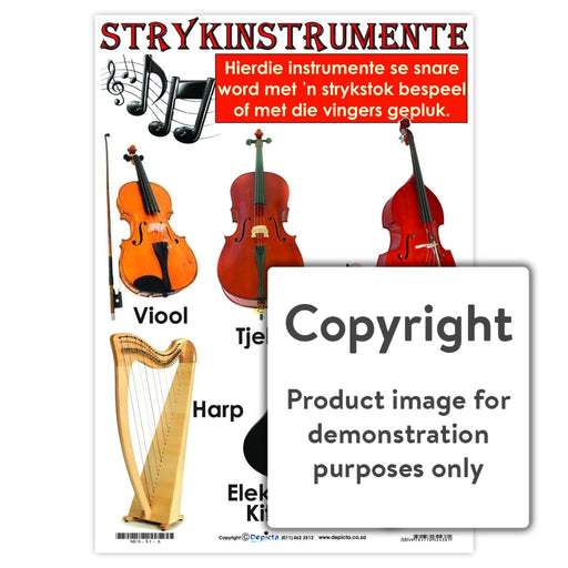 Strykinstrumente Wall Charts And Posters