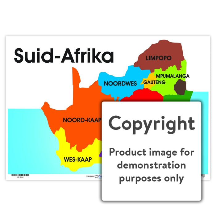 Suid-Afrika Wall Charts And Posters