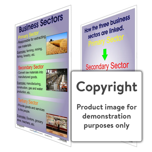 The Business Sector Wall Charts And Posters