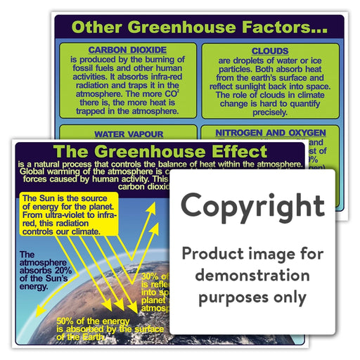 The Greenhouse Effect Wall Charts And Posters