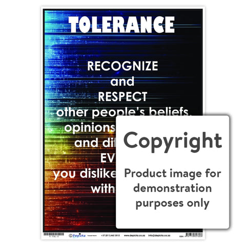 Tolerance Wall Charts And Posters