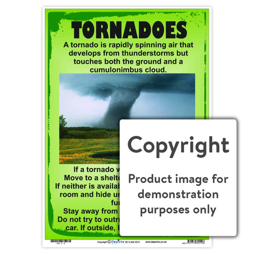Tornadoes Wall Charts And Posters