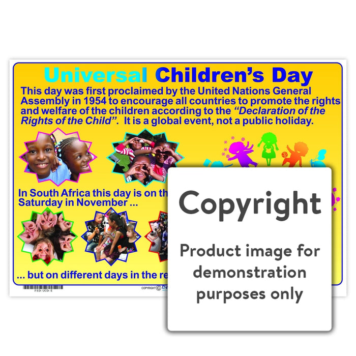Universal Childrens Day Wall Charts And Posters