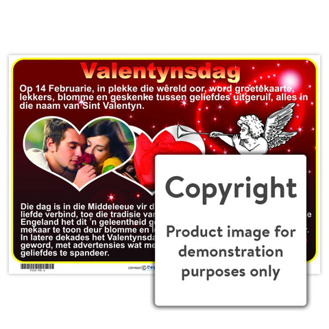 Valentynsdag Chart Wall Charts And Posters