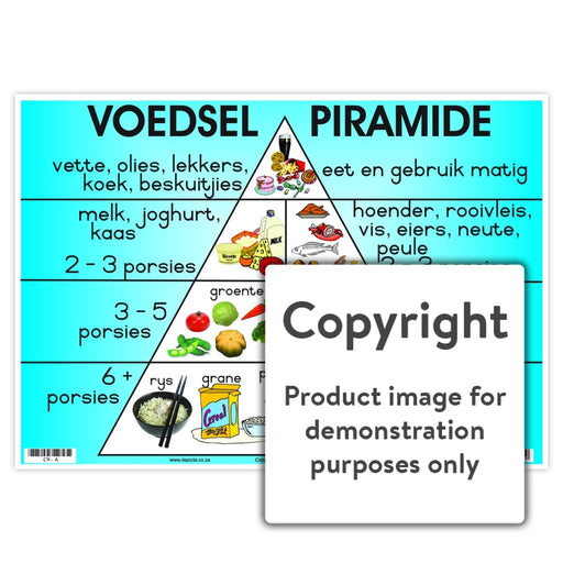 Voedselpiramide Wall Charts And Posters
