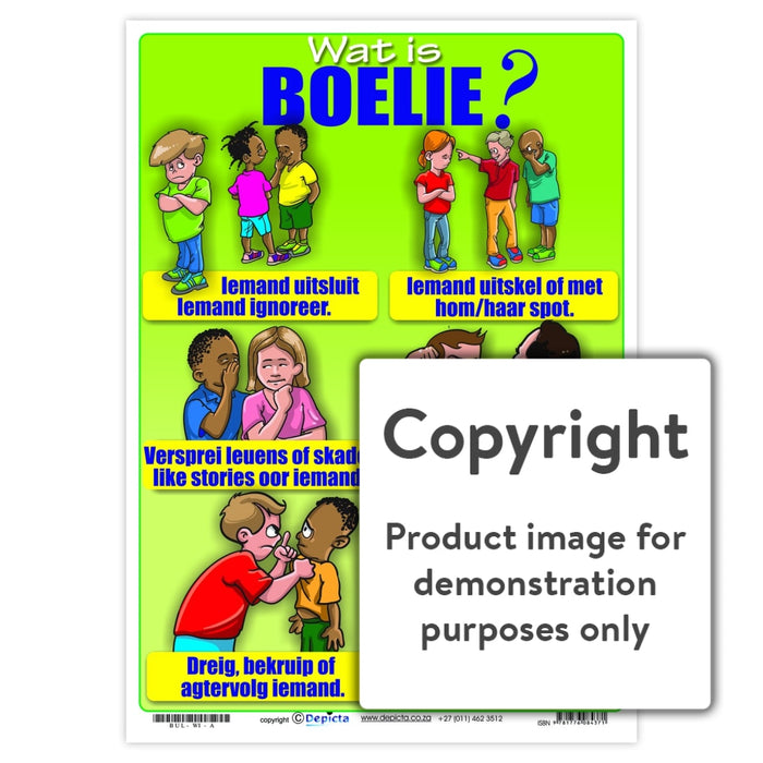 Wat Is Boelie (Primary School) Wall Charts And Posters