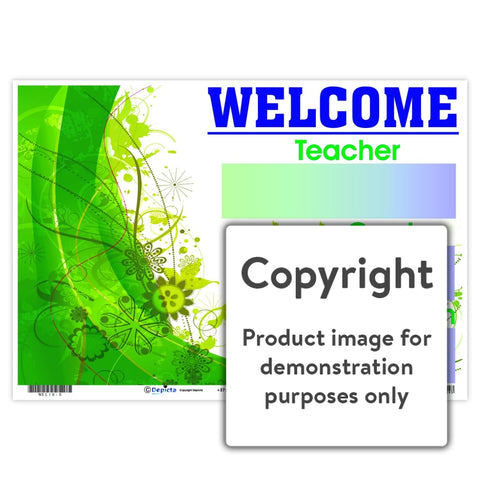 Welcome 10 Wall Charts And Posters