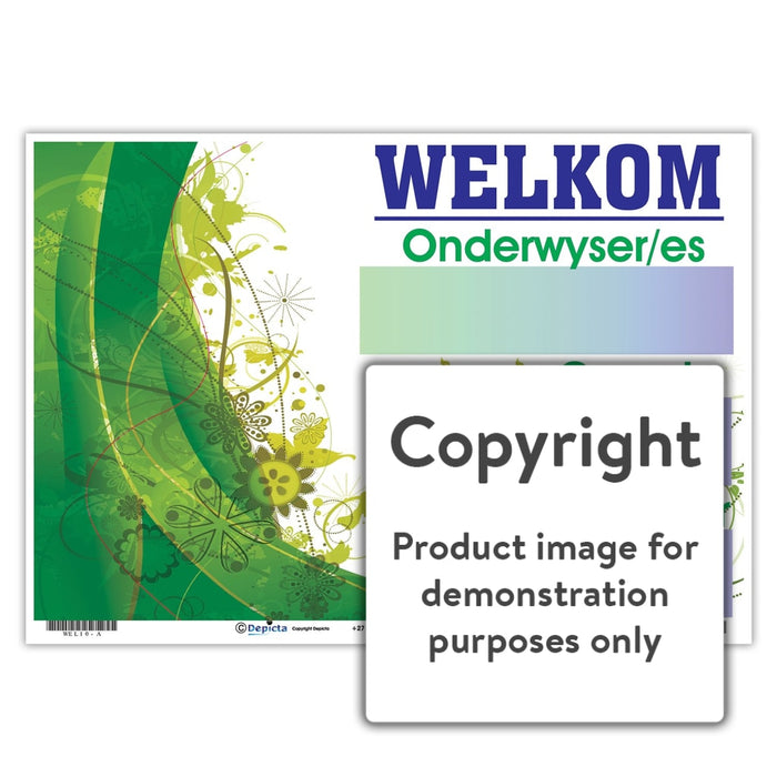 Welkom 10 Wall Charts And Posters
