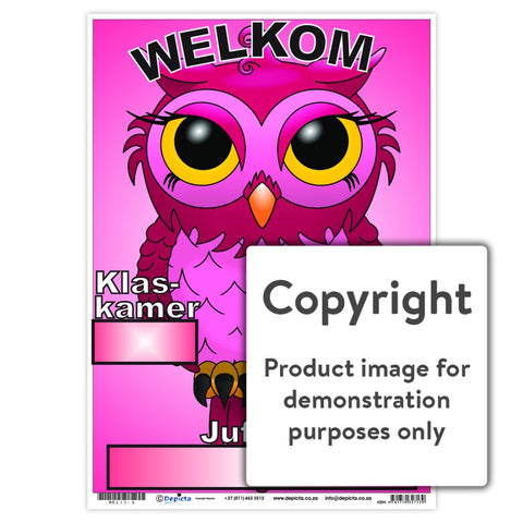 Welkom 13 Wall Charts And Posters