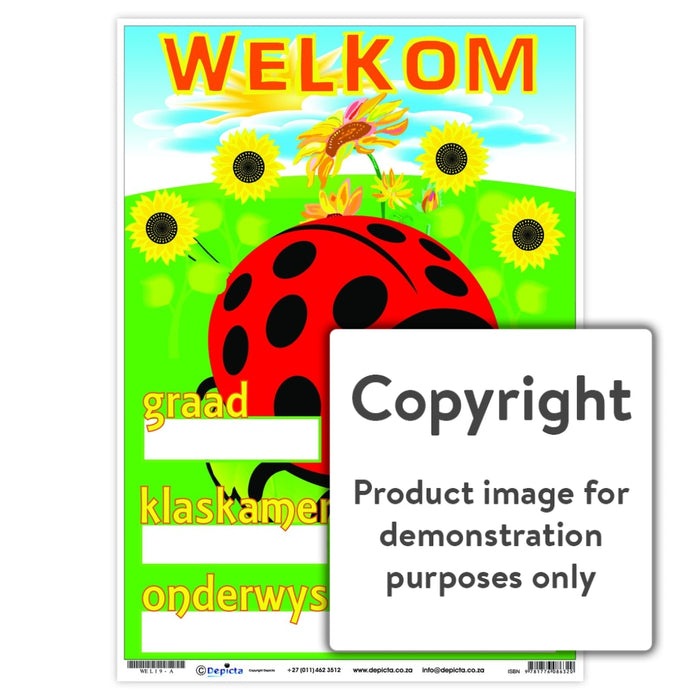 Welkom 19 Wall Charts And Posters