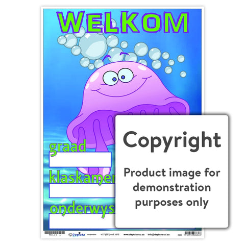 Welkom 20 Wall Charts And Posters