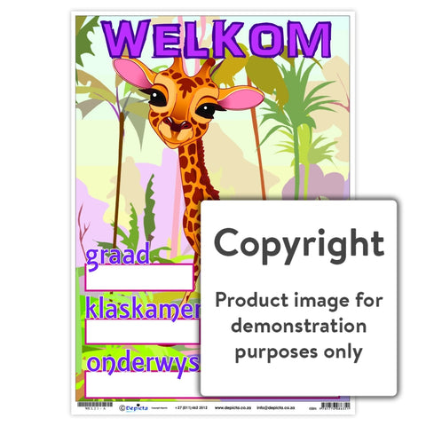 Welkom 21 Wall Charts And Posters