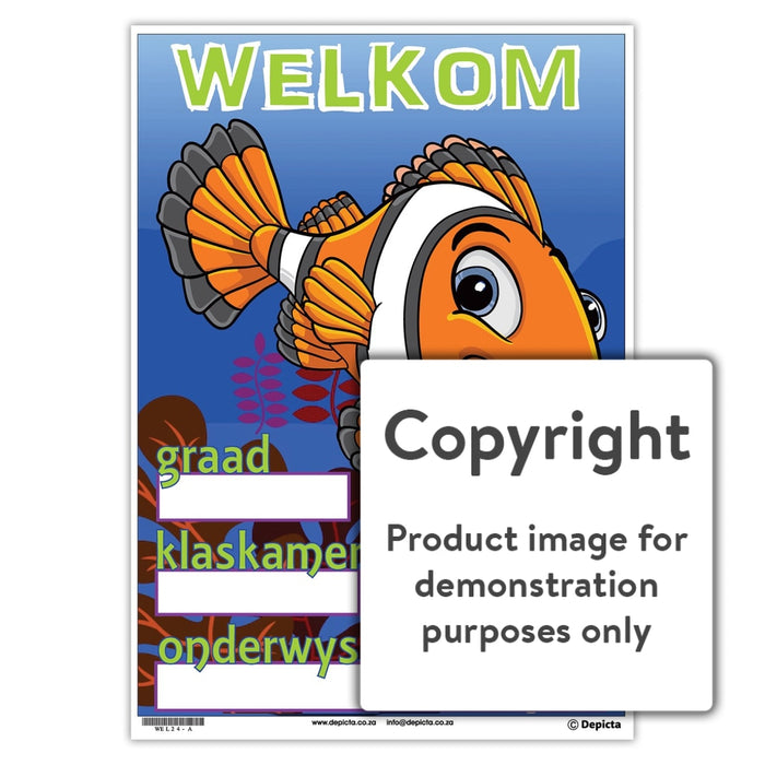 Welkom 24 Wall Charts And Posters