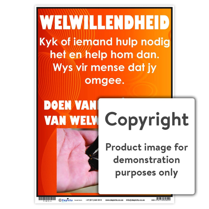 Welwillendheid Wall Charts And Posters