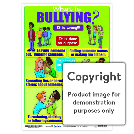 What Is Bullying (High School) Wall Charts And Posters