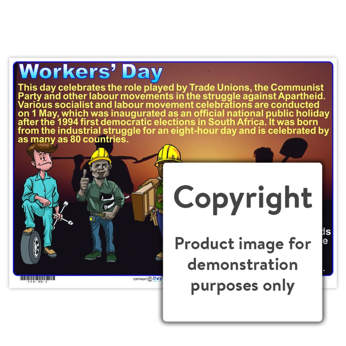 Workers Day Wall Charts And Posters