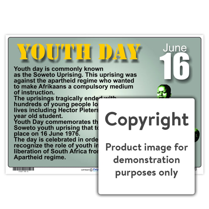 Youth Day Wall Charts And Posters