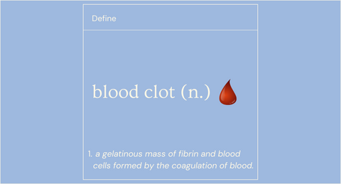 Blood Clot Blog Post Image - The Spoonless Witch