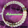 Pearl Bracelets with Gemstones on Memory Wire