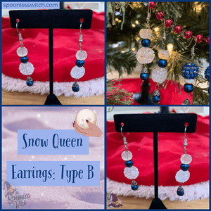 Snow Queen Collection: Earrings B