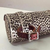 Animal Print Moto/Bicycle Tool Bag or Clutch - Heyltje Rose Shop