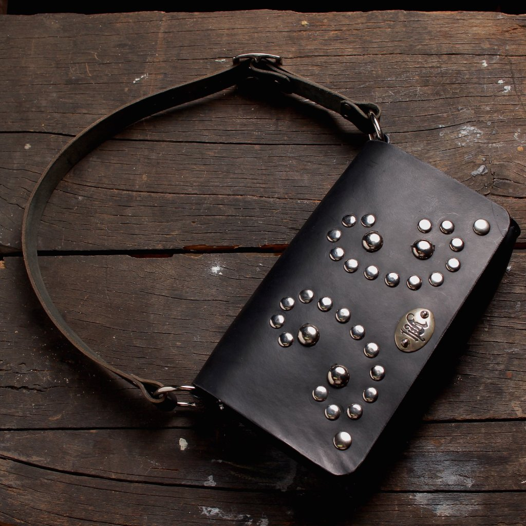 Studded Black Handbag - Heyltje Rose Shop