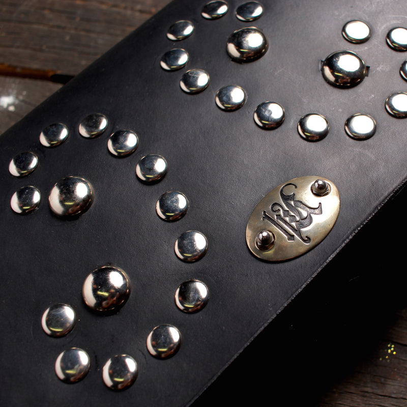 Studded Black Handbag