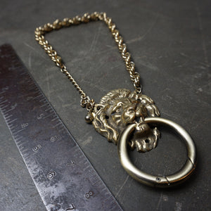 Lion Knocker Necklace - Heyltje Rose Shop