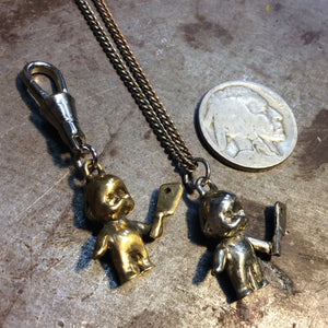 Butcher Baby Necklace or Zipper Pull - Heyltje Rose Shop