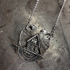 Double Headed Eagle Necklace