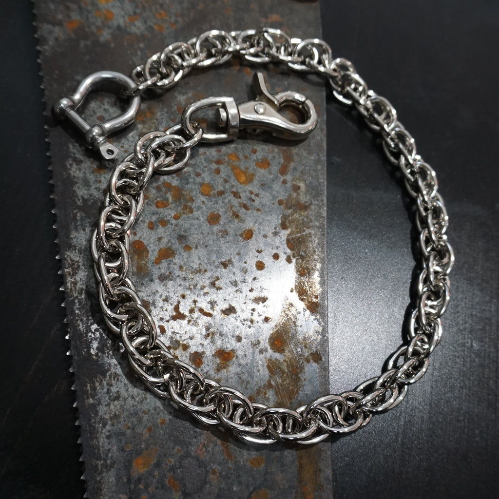 Chrome Wallet Chain - Heyltje Rose Shop