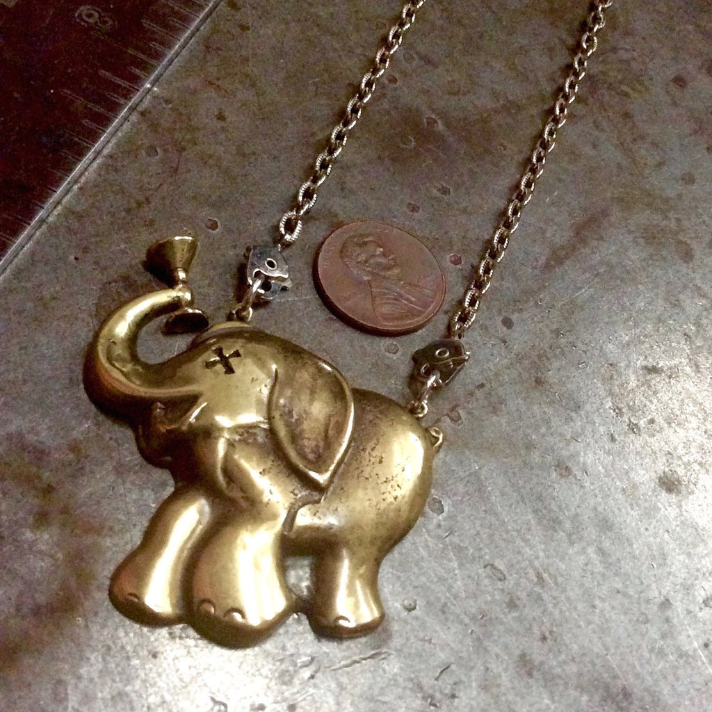 Drunken Elephant Necklace