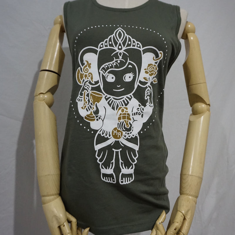 Ganesh Baby Muscle T-shirt - Heyltje Rose Shop