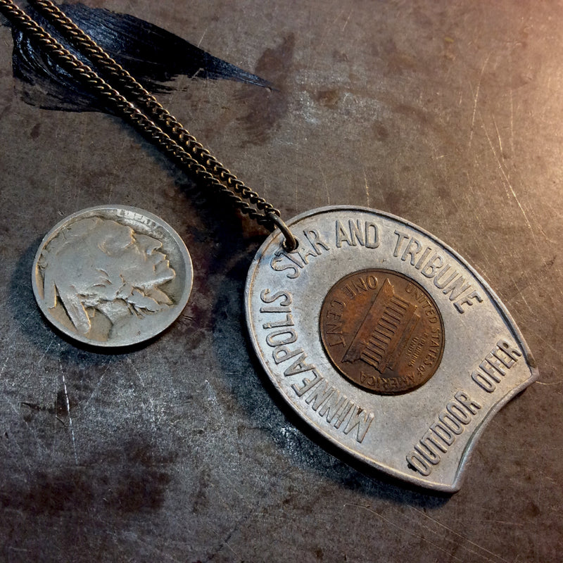 Good Luck 1960 Penny Necklace