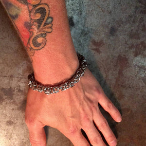 Stainless Chain Mail Bracelets - Heyltje Rose Shop