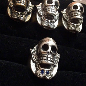 Santa Muerte Grim Reapress Ring - Heyltje Rose Shop